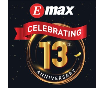 Emax 13th Anniversary Promotion