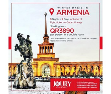 WINTER MAGIC IN ARMENIA