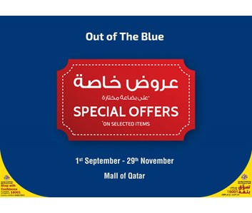 Special Offers On Selected Items