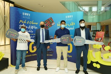 Shop and Win Festival at Mall of Qatar Gives Winners New Hope For a Better Life