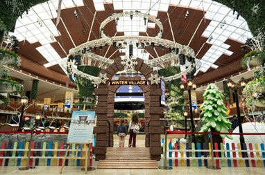 Mall of Qatar launches educational campaign  on the theme of Winter and global warming