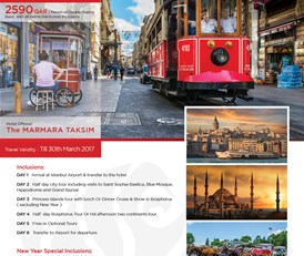 Istanbul New Year Special Tour Package