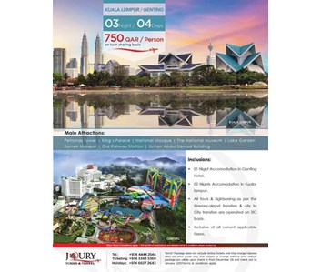 """New Year Special Package """"Kuala Lumpur-Genting"""""""