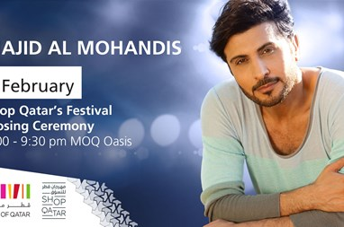 Win QAR 1 Million at Mall of Qatar for the closing ceremony of Shop Qatar with Majid al Mohandis