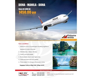Philippine Airlines Special Offer
