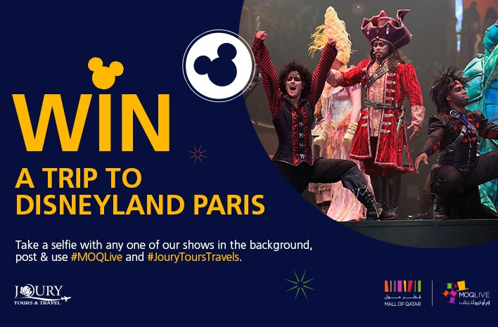 MOQLive Competition: Win a Trip for Two to Disneyland Paris