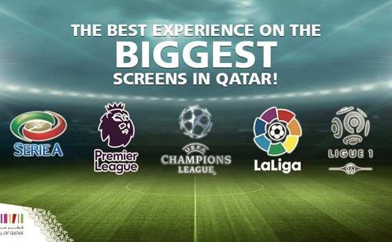 Football Evenings on Mega Screens