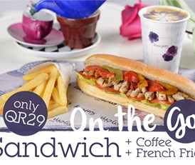 Sandwich + Coffee for QR29