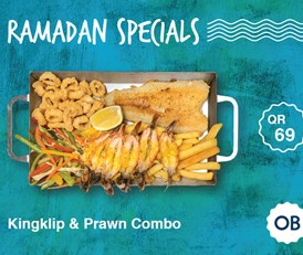Kingklip and Prawn Combo for QR 69