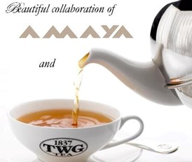 TWG Tea & AMAYA Partnership