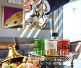 Moroccan Tea Promotion