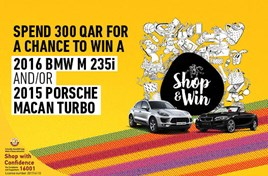 Shop and Win Porsche Macan Turbo
