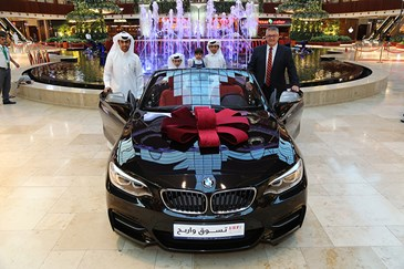 Mall of Qatar fourth Shop & Win promotion prizewinner announced
