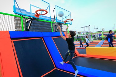 Diverse Activities and Events Throughout Mall of Qatar for National Sports Day