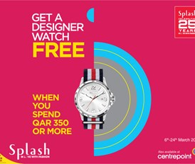 Get a designer watch FREE