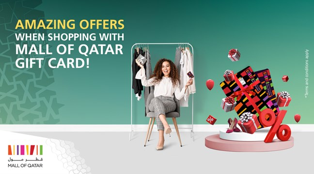 The Mall of Qatar Gift Card is a perfect gift solution from Mall of Qatar shopping mall. The Gift Card can be used by recipients to buy what they want when ...