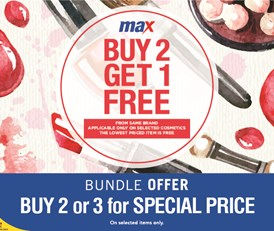 BUY 2 GET 1 FREE / BUNDLE OFFER