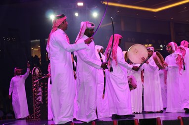 The Nation's mall celebrated Qatar National Day  with fervor and patriotism