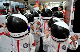 Send your kids to the Moon at Mall of Qatar