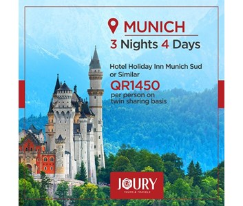 3 NIGHTS / 4 DAYS MUNICH AFFORDABLE PACKAGE