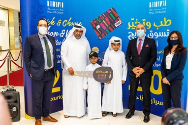 """Mall of Qatar Handovers the Second Group of Cars to the winners of """"Pick & Choose"""" Festival"""