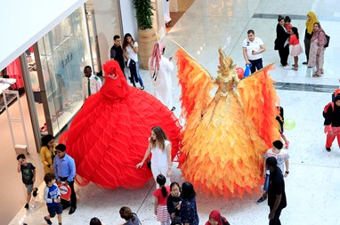 Over 150,000 Visitors Celebrate The Grand Opening Day of Mall of Qatar
