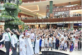 FC Barcelona Superstars Visit to Mall of Qatar